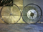 1970's Raleigh Grifter wheels re-furb